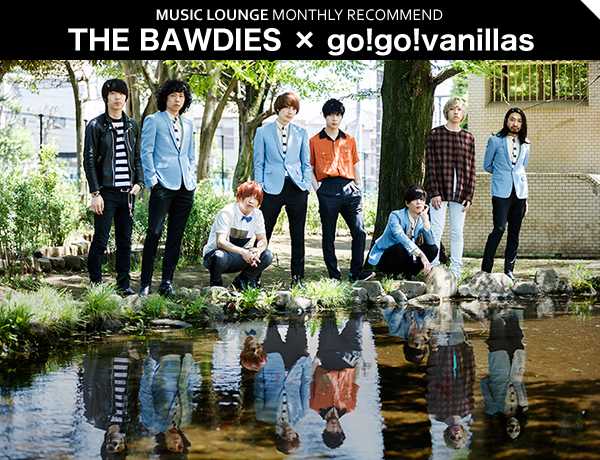 THE BAWDIES × go!go!vanillas