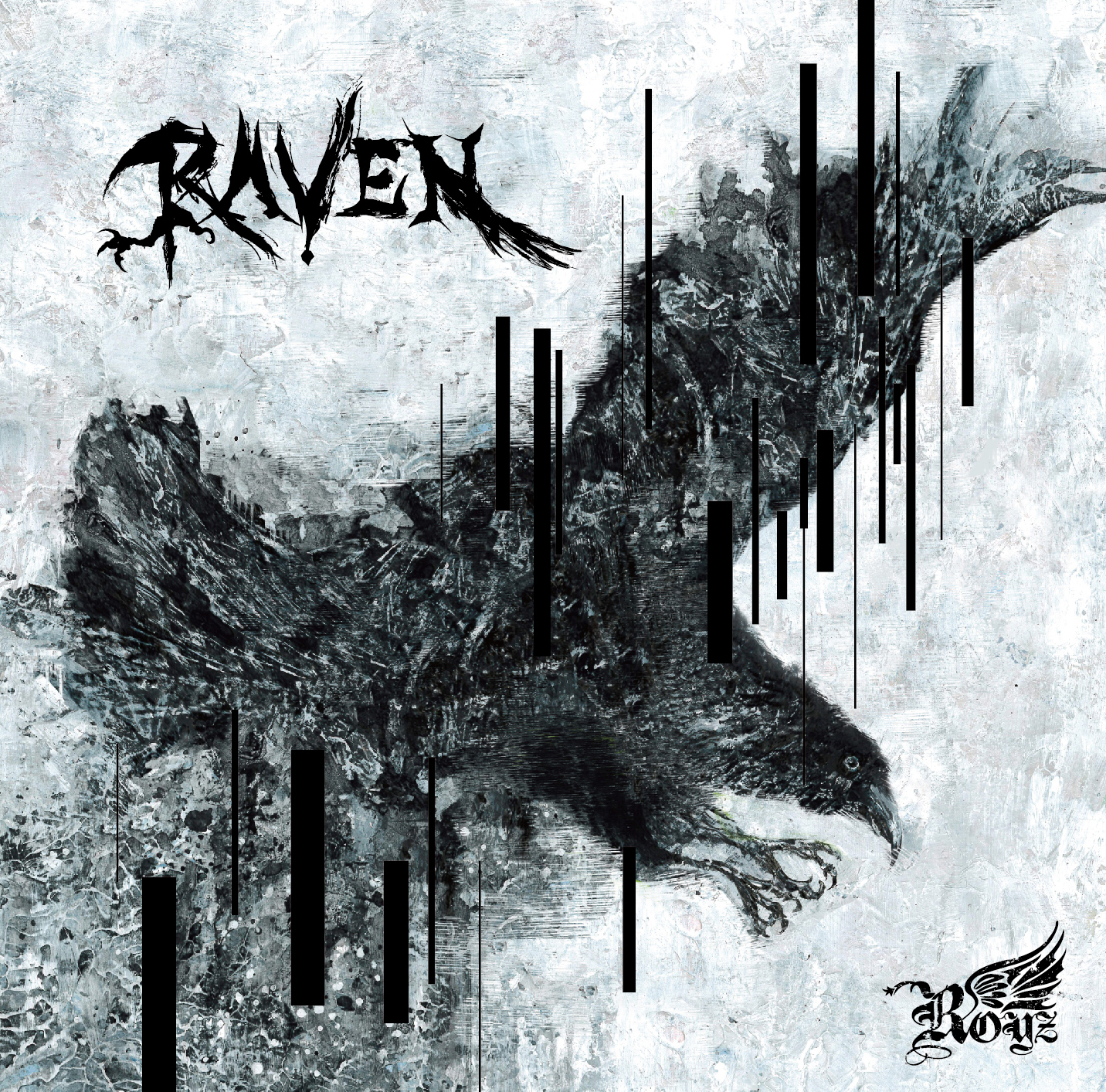 Royz 13th maxi single 「RAVEN」Atype