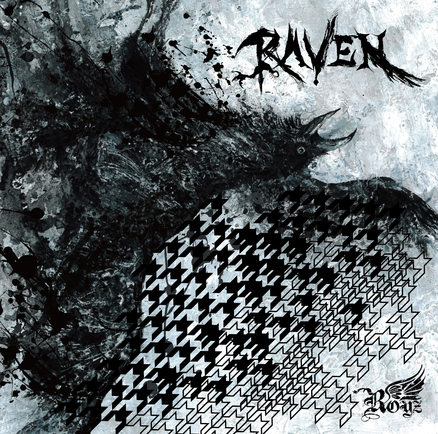 Royz 13th maxi single 「RAVEN」Ctype