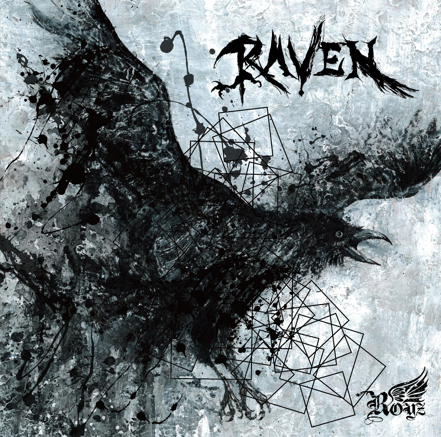 Royz 13th maxi single 「RAVEN」Dtype