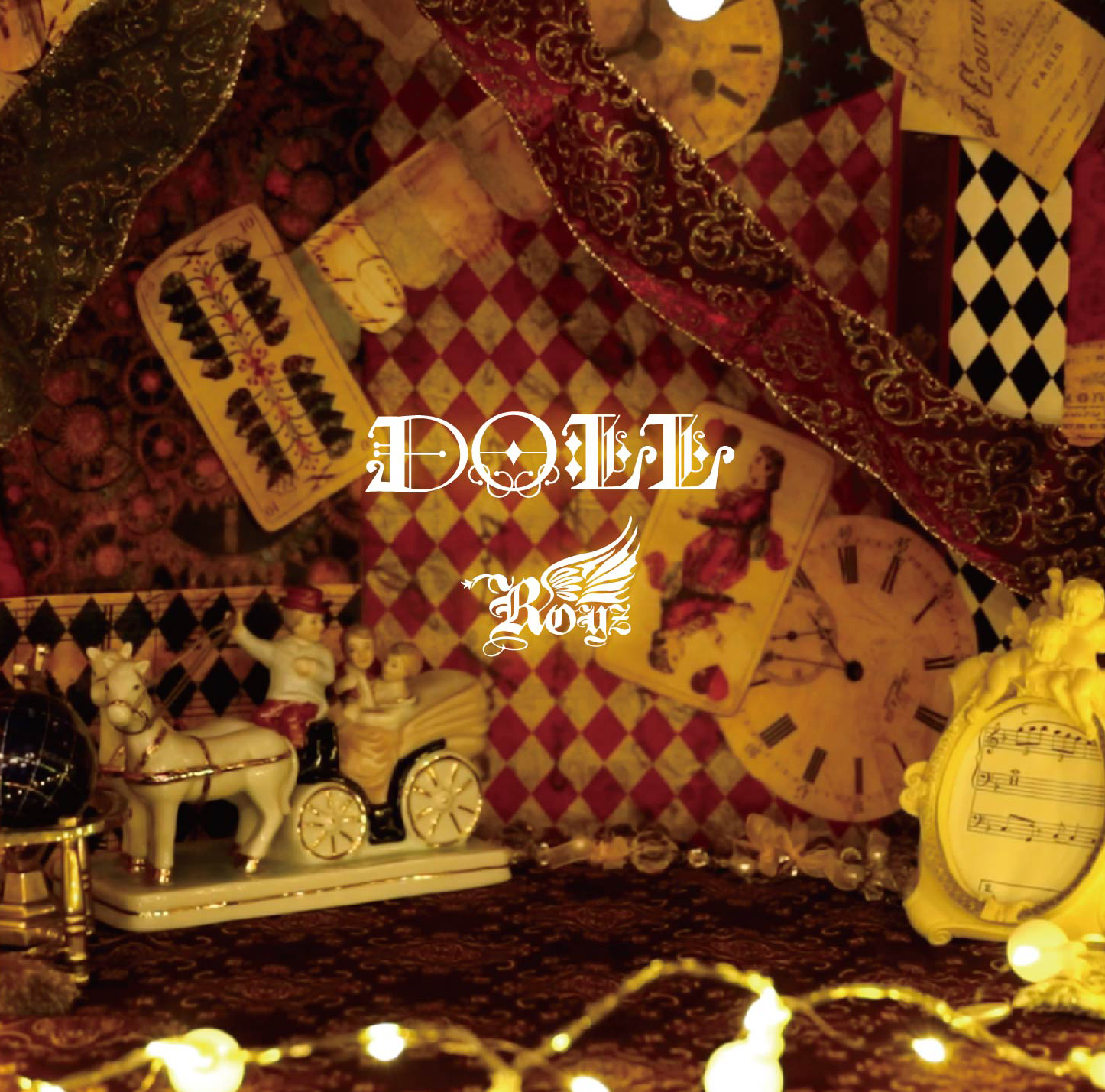 Royz 15th maxi single 「DOLL」Ctype