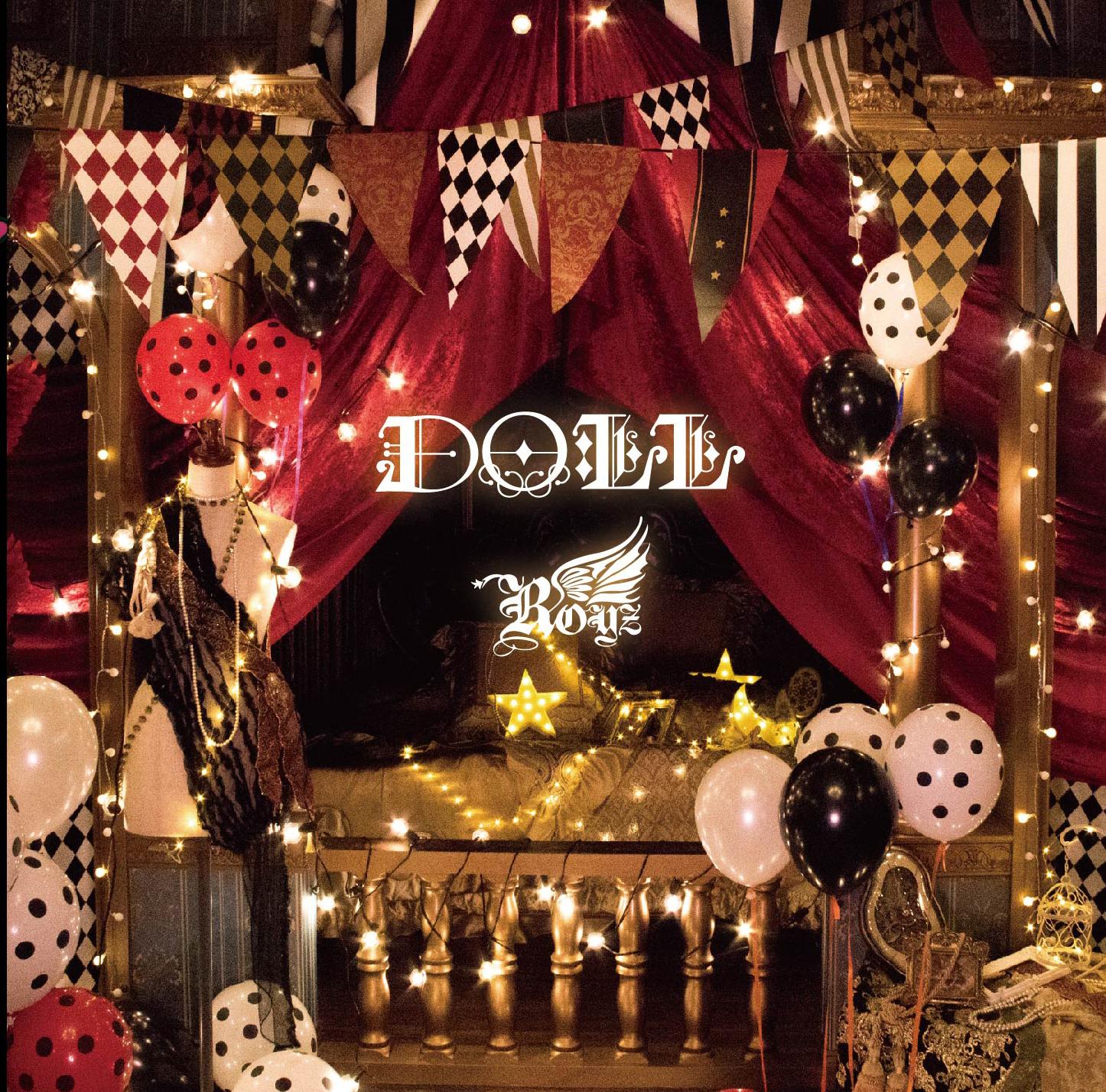 Royz 15th maxi single 「DOLL」Dtype