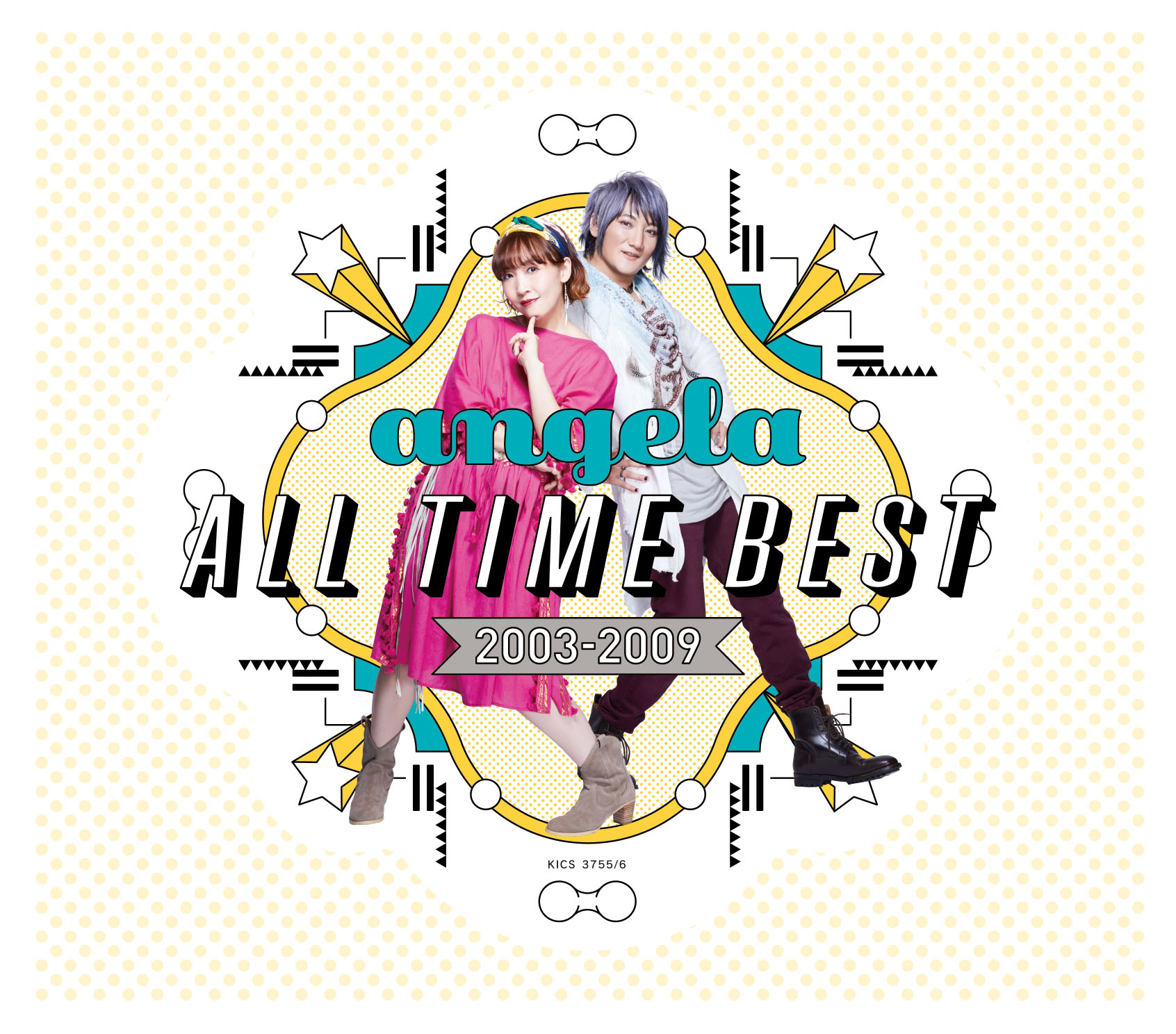 『angela All Time Best 2003-2009』 (CD×2)
