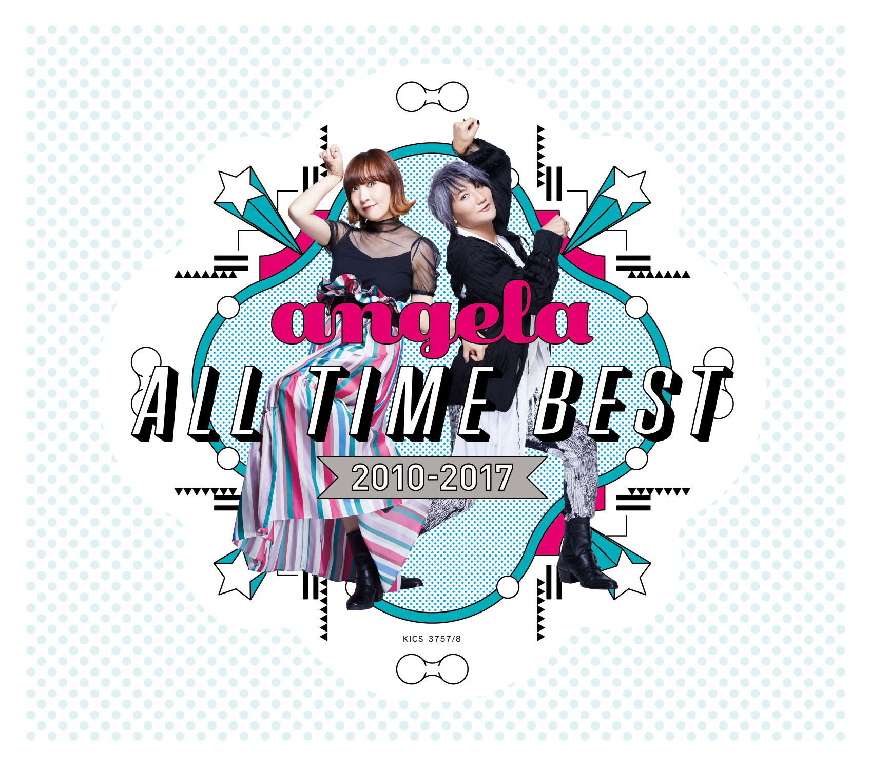 『angela All Time Best 2010-2017』 (CD×2)
