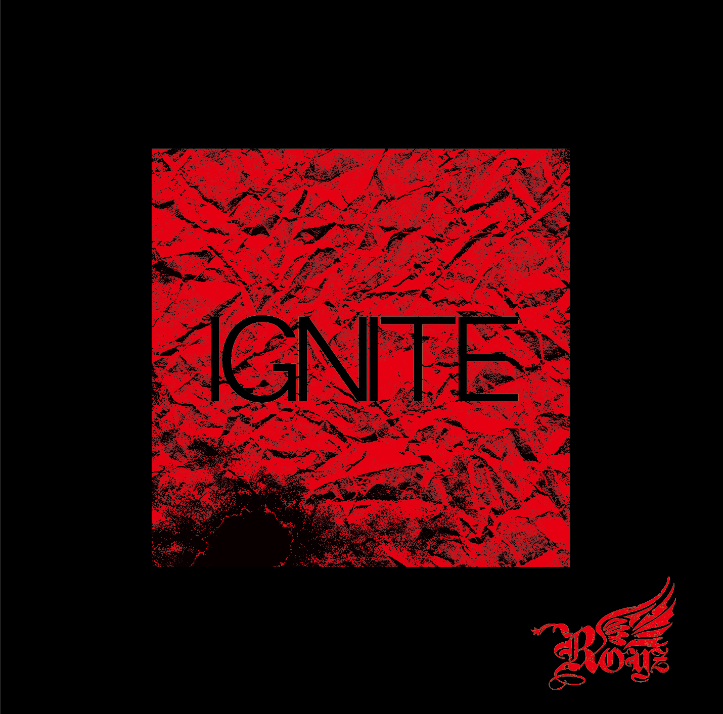 Royz 17th maxi single 「IGNITE」Dtype