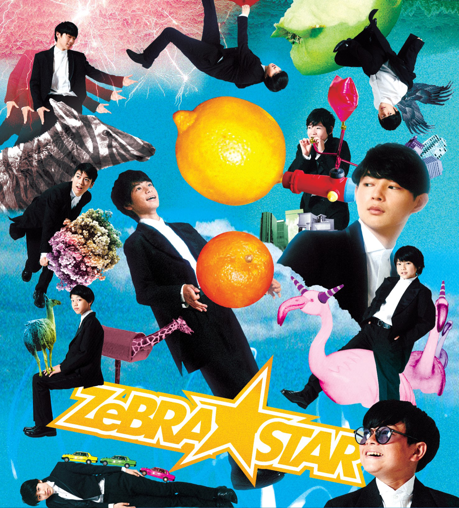 ZeBRA☆STAR 「Youthful Wind/Lucky Boy ☆ Lucky Days」