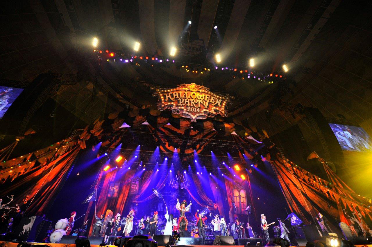 HALLOWEEN JUNKY ORCHESTRA 『HALLOWEEN PARTY 2014』 写真:今元秀明、緒車寿一
