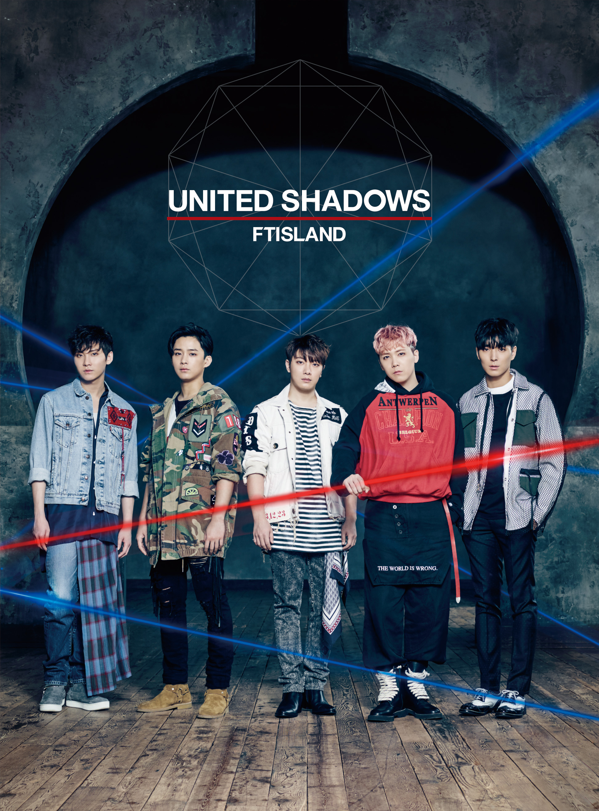 FTISLAND 7th ALBUM 『UNITED SHADOWS』初回限定盤A