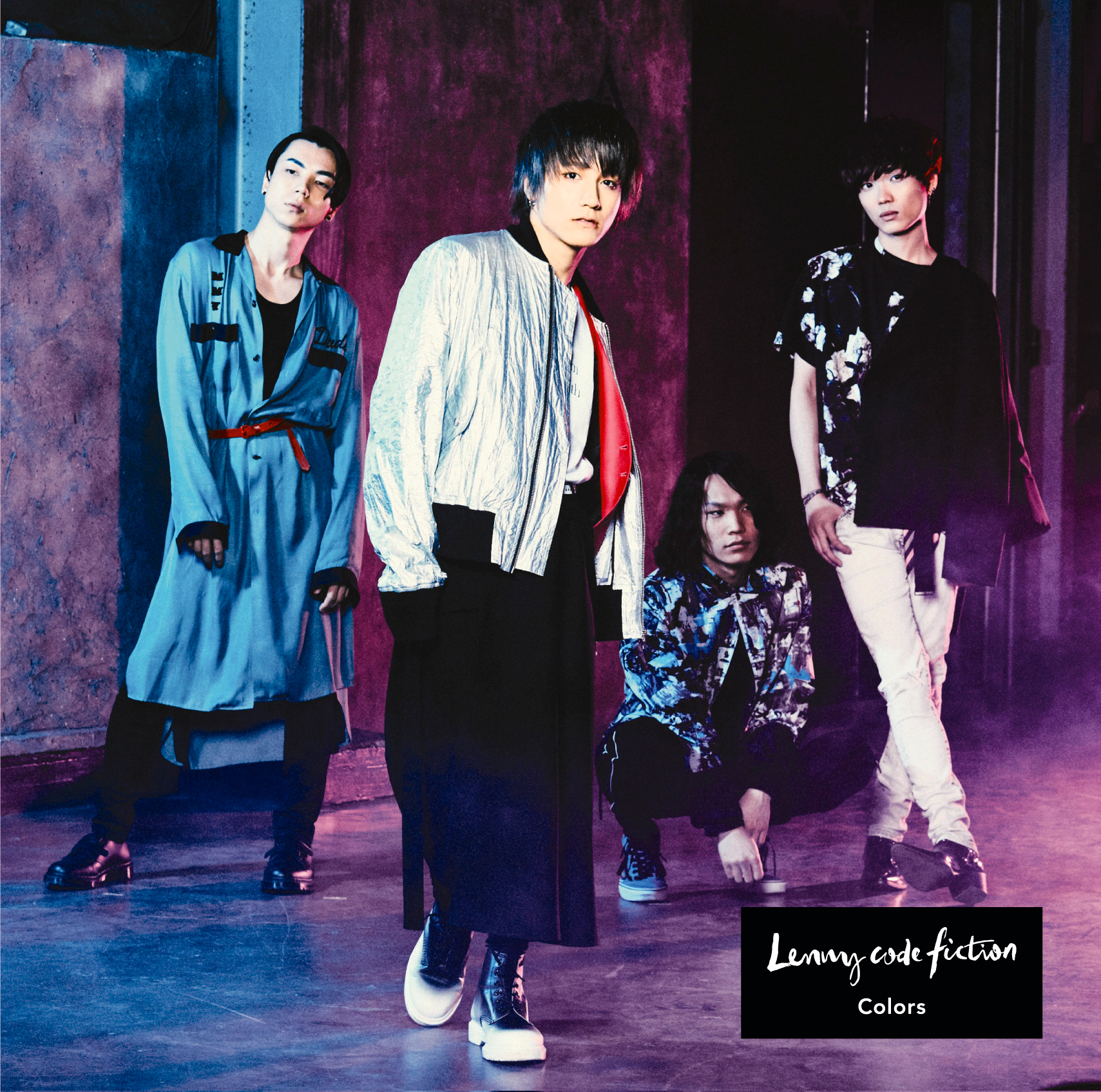 Lenny code fiction 3rd Single 「Colors」期間生産限定盤