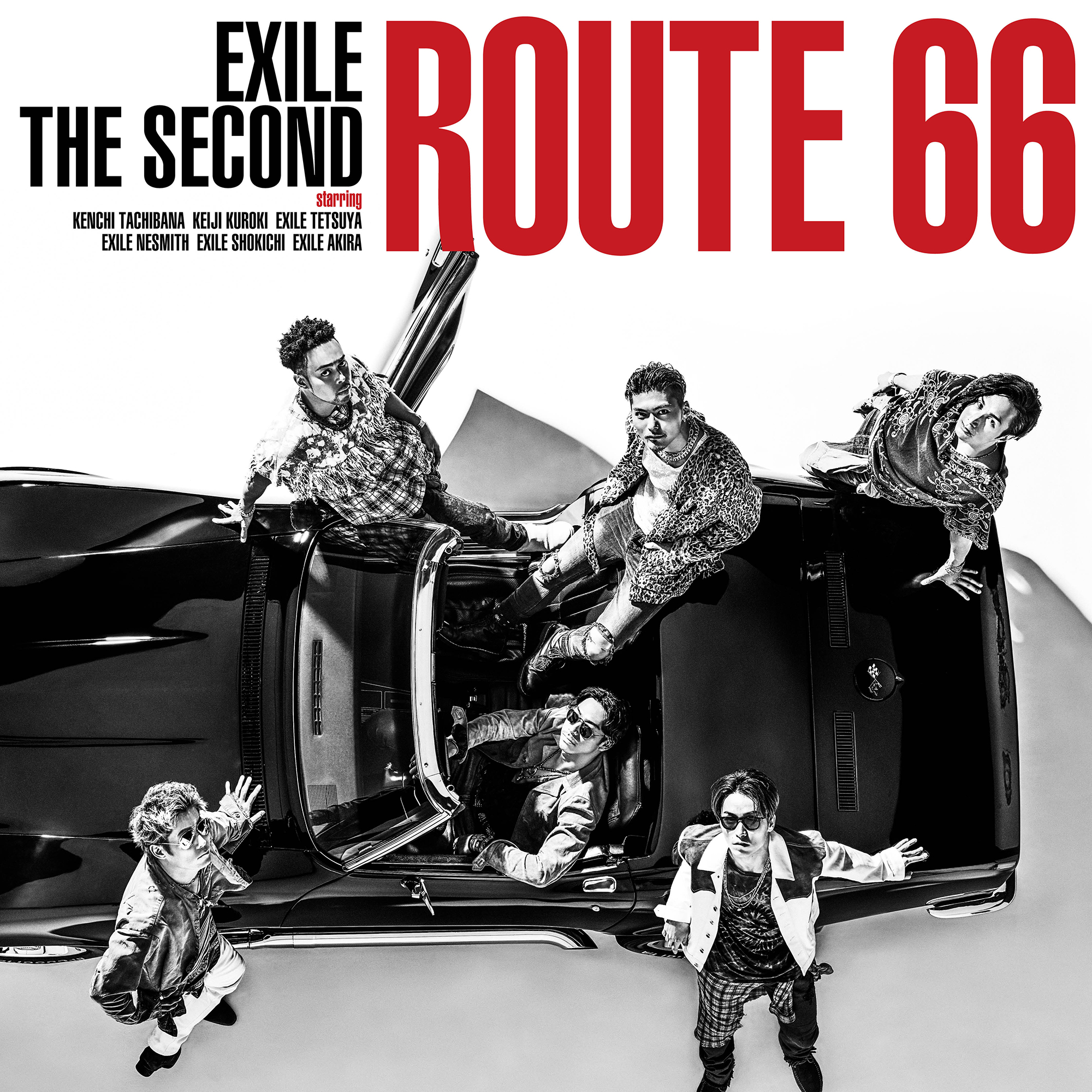 EXILE THE SECOND New Single『Route 66』CD+DVD