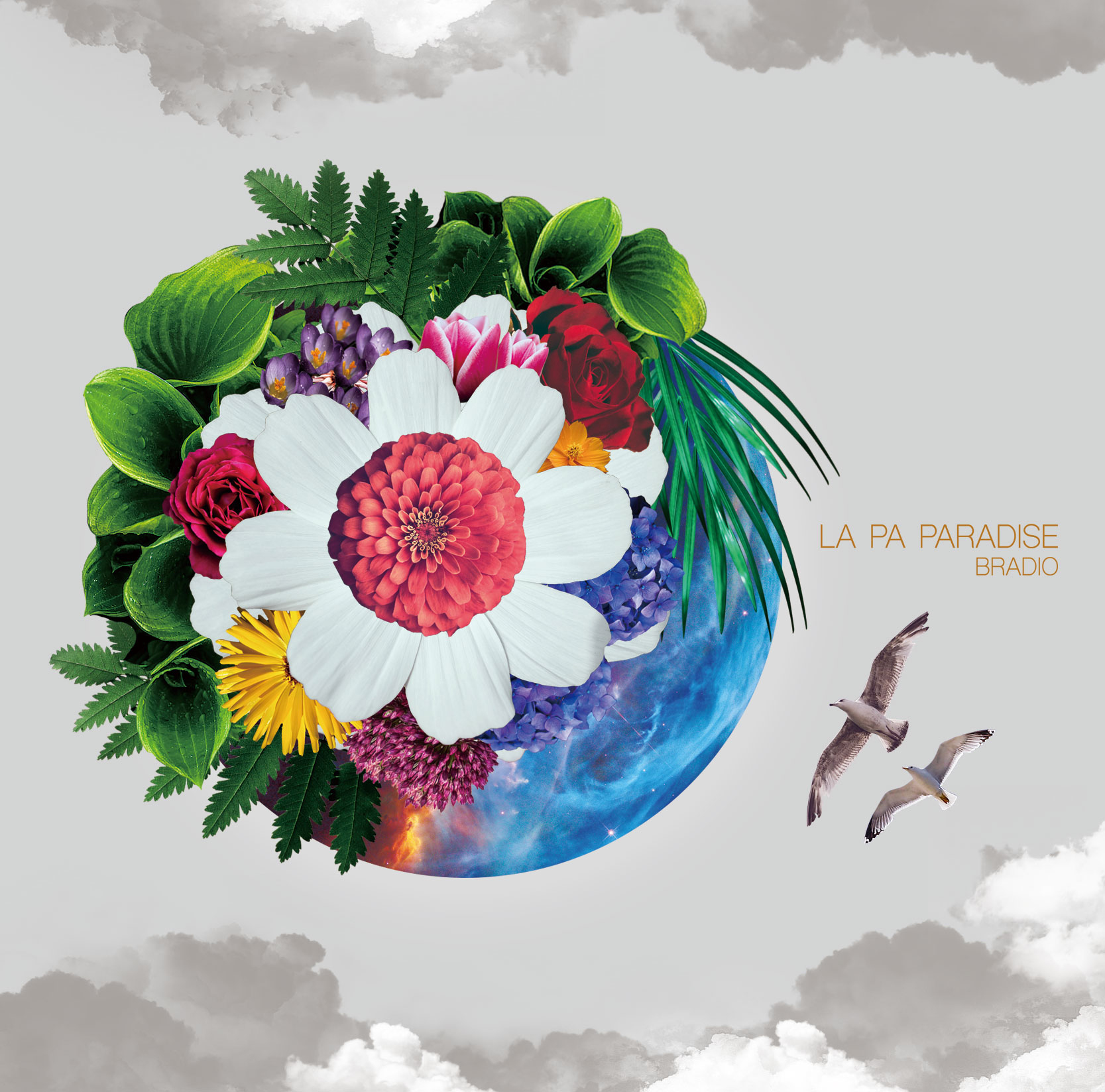 BRADIO 1st SINGLE 「LA PA PARADISE」通常盤