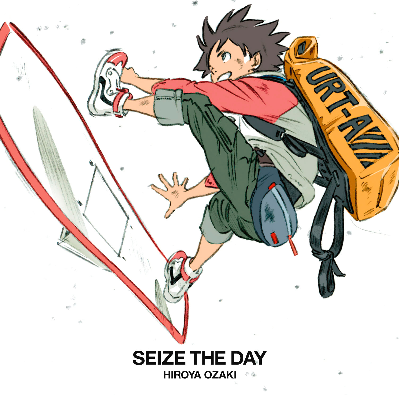 「SEIZE THE DAY」初回盤