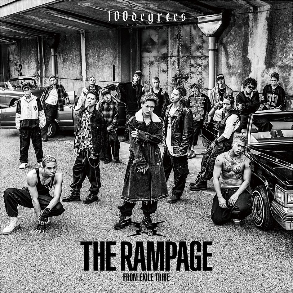THE RAMPAGE from EXILE TRIBE「100degrees」CD