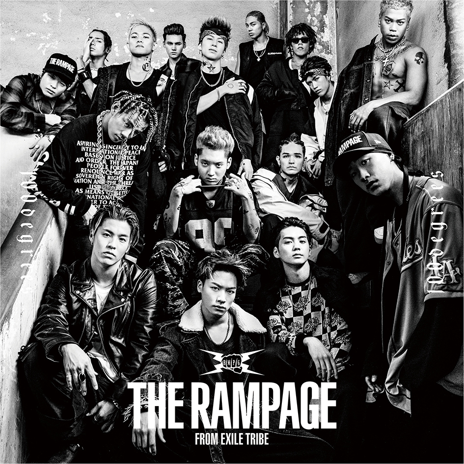 THE RAMPAGE from EXILE TRIBE「100degrees」CD+DVD