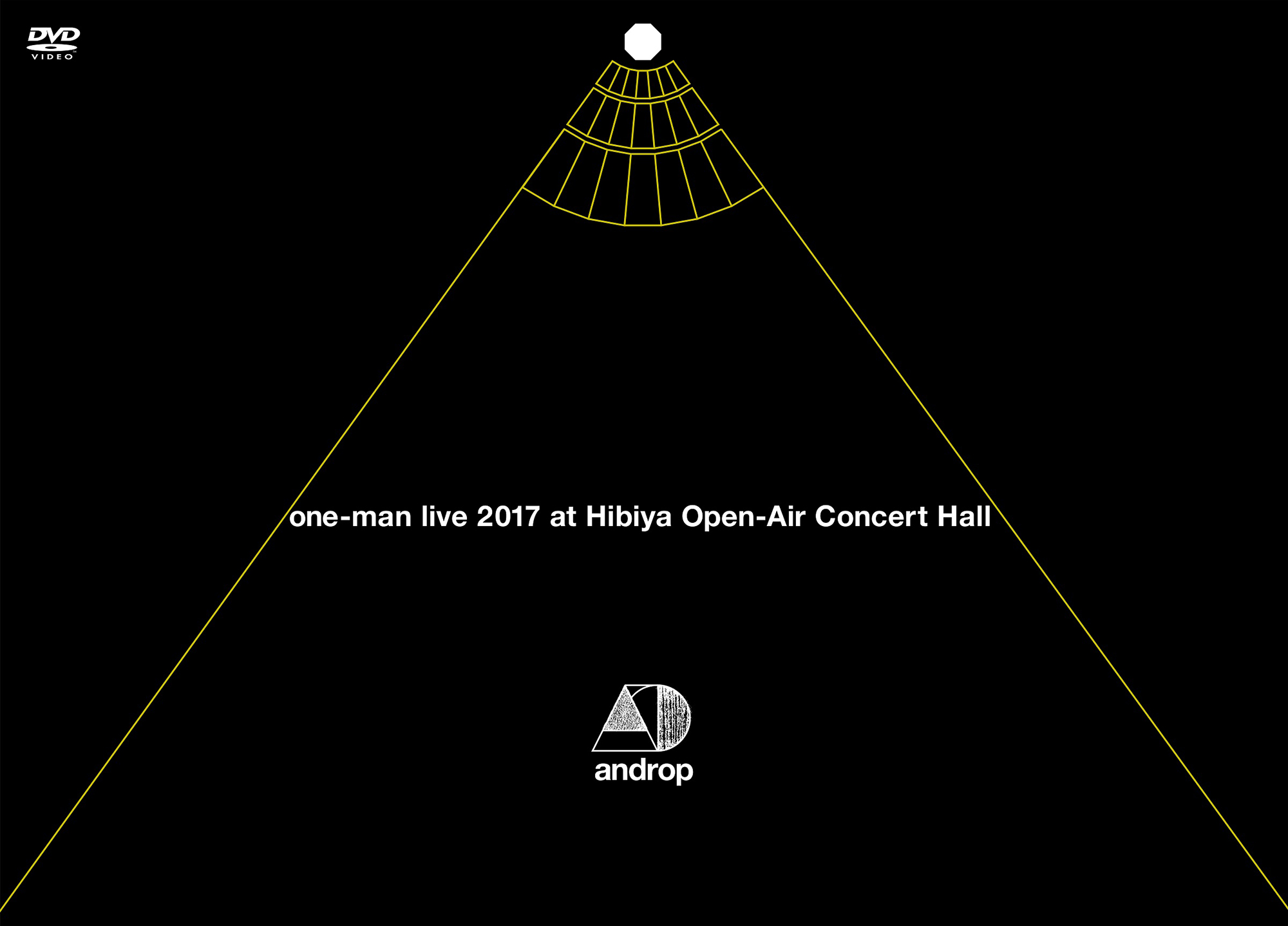 androp「one-man live 2017 at 日比谷野外大音楽堂」DVD