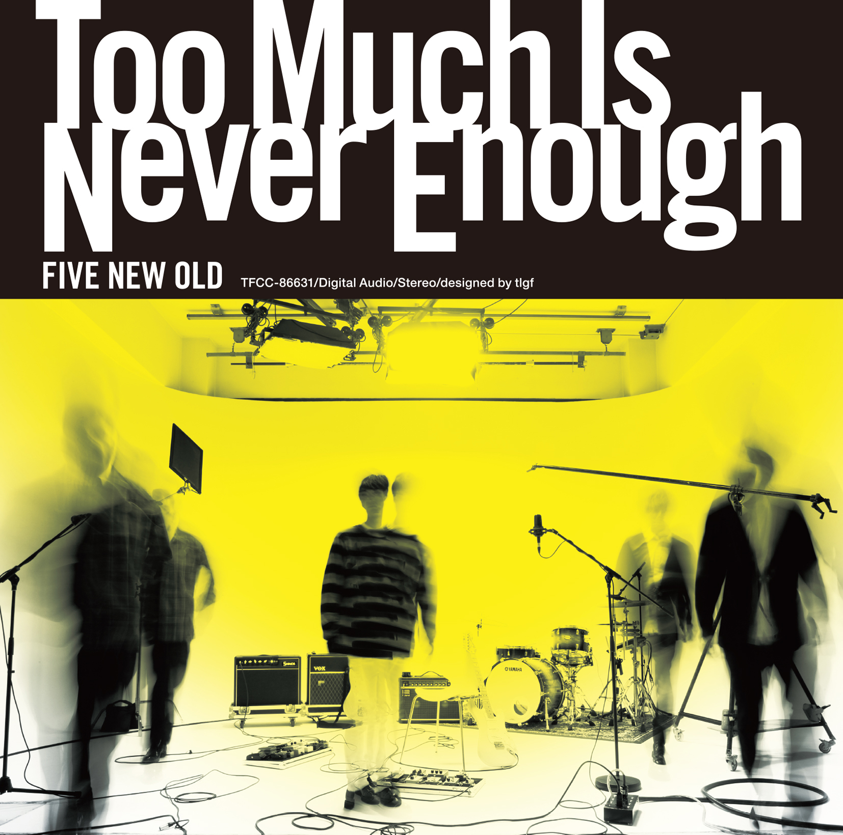 FIVE NEW OLD Major 1st Album「Too Much Is Never Enough」