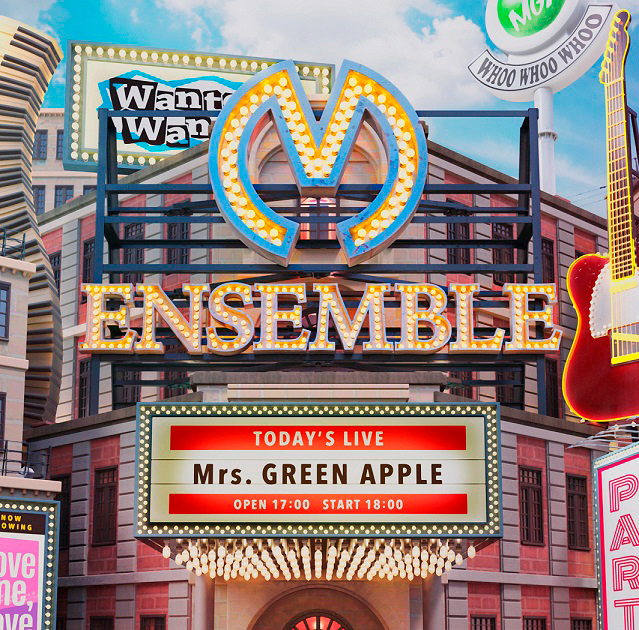 Mrs. GREEN APPLE 3rdアルバム『ENSEMBLE』通常盤