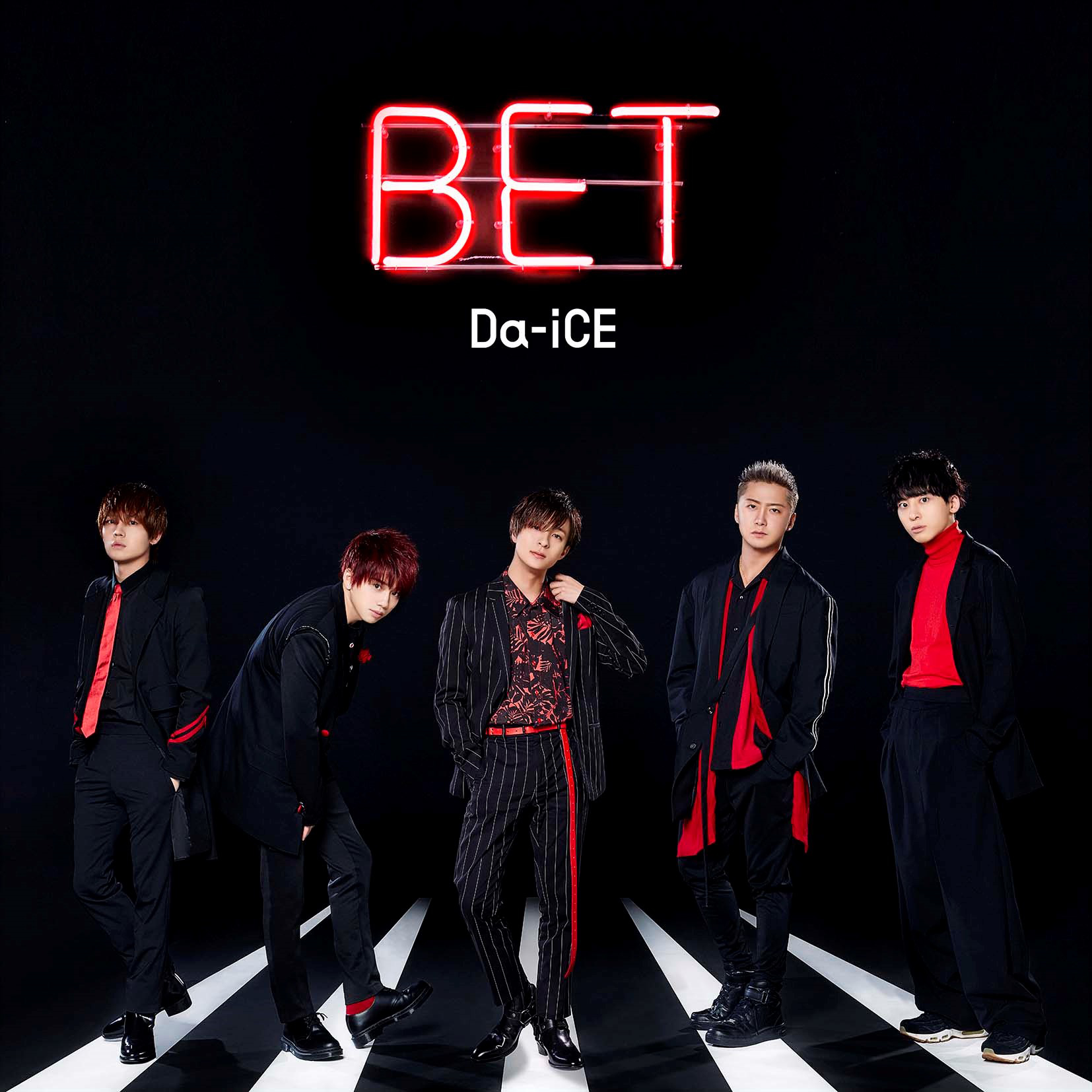 Da-iCE 4th album 『BET』通常盤
