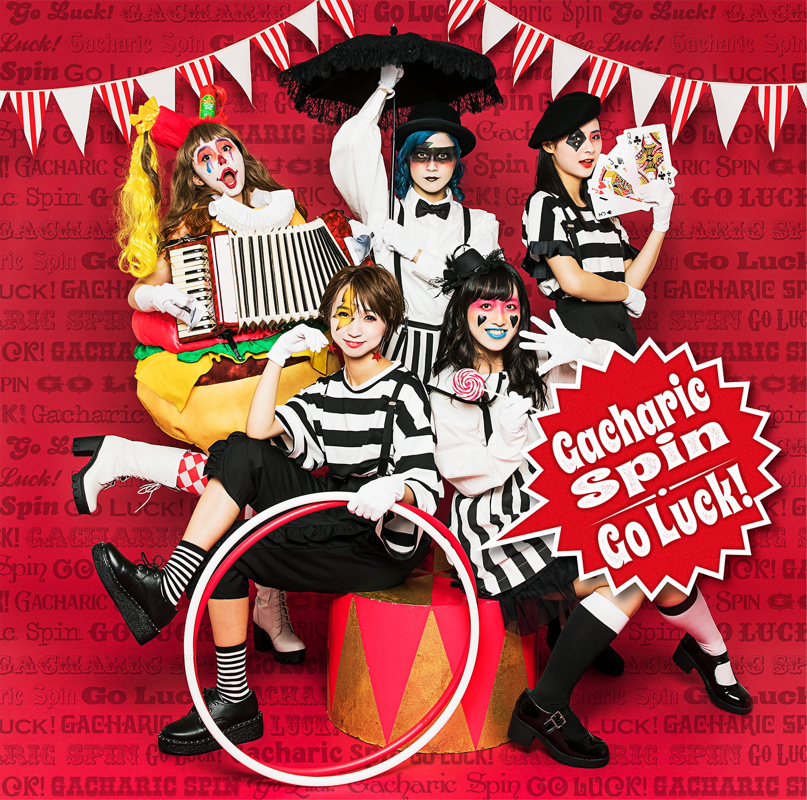 Gacharic Spin Cover Mini Album『Go Luck!』Type-GACHA