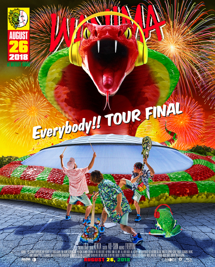 「Everybody!! TOUR FINAL」Blu-ray