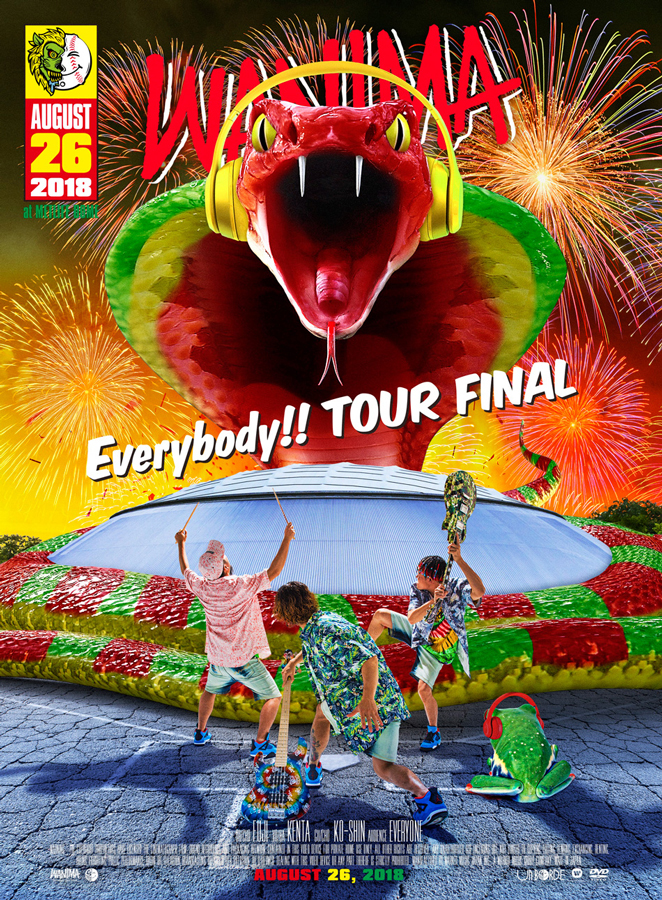 「Everybody!! TOUR FINAL」DVD