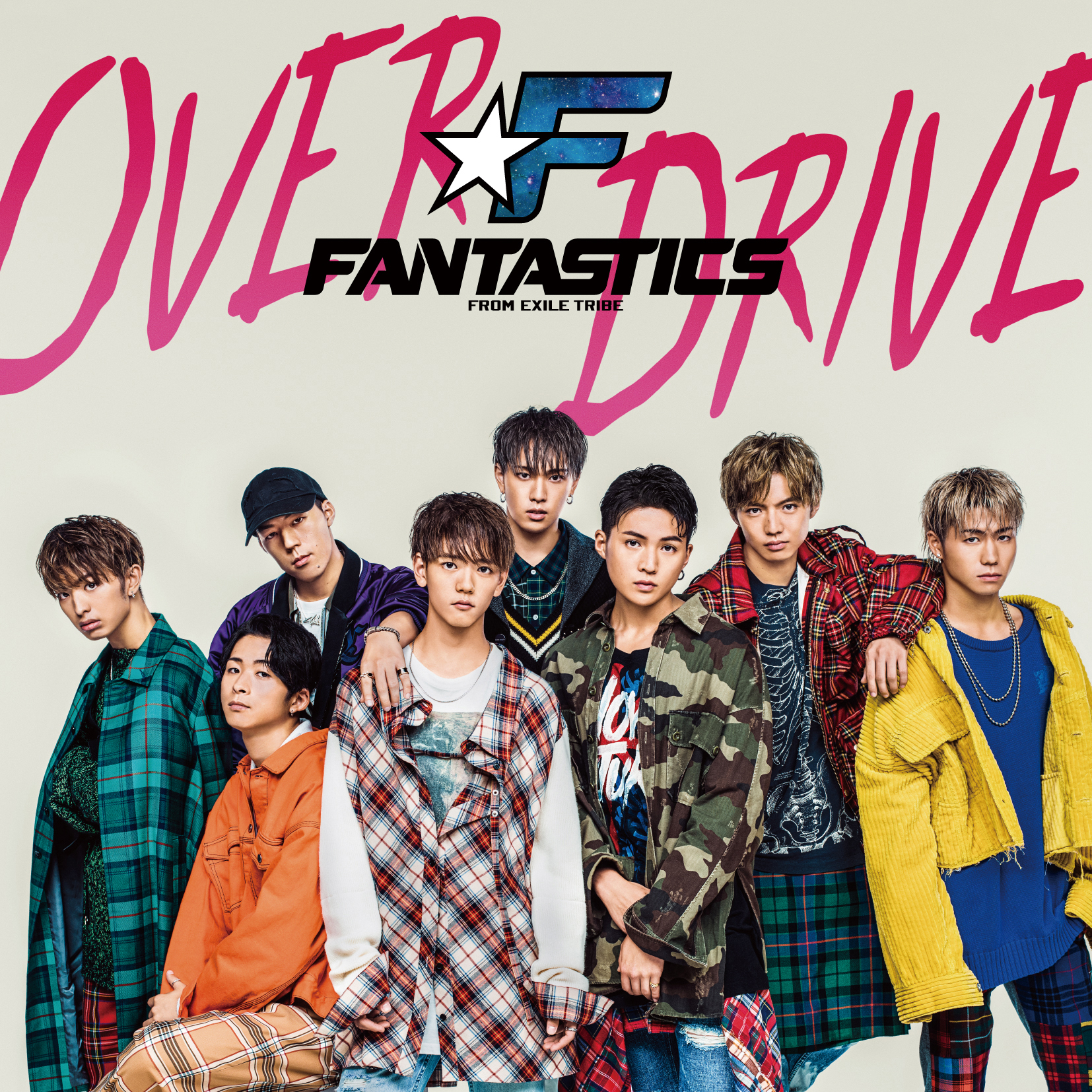 FANTASTICS from EXILE TRIBE 「OVER DRIVE」CD+DVD
