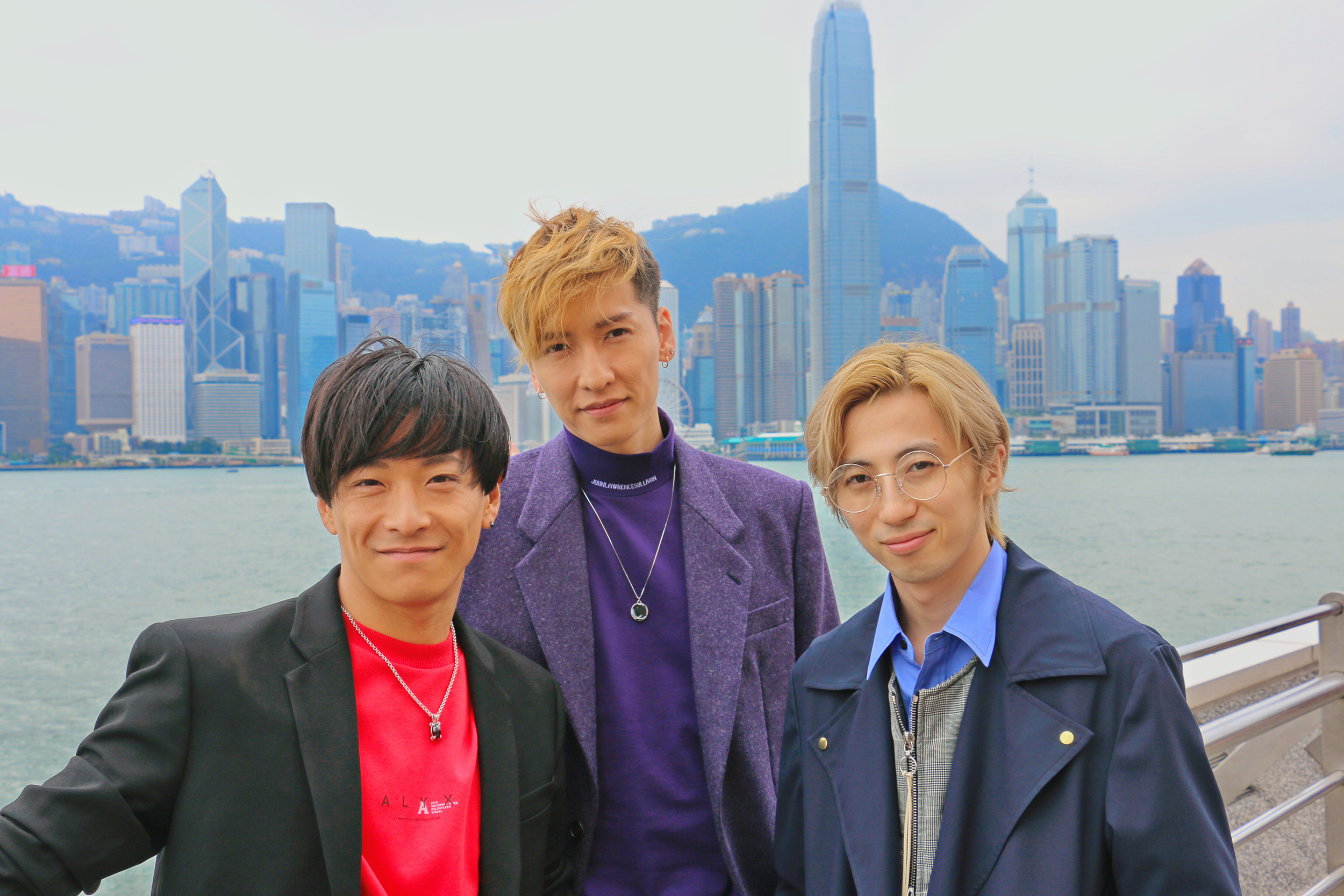 w-inds 香港にて
