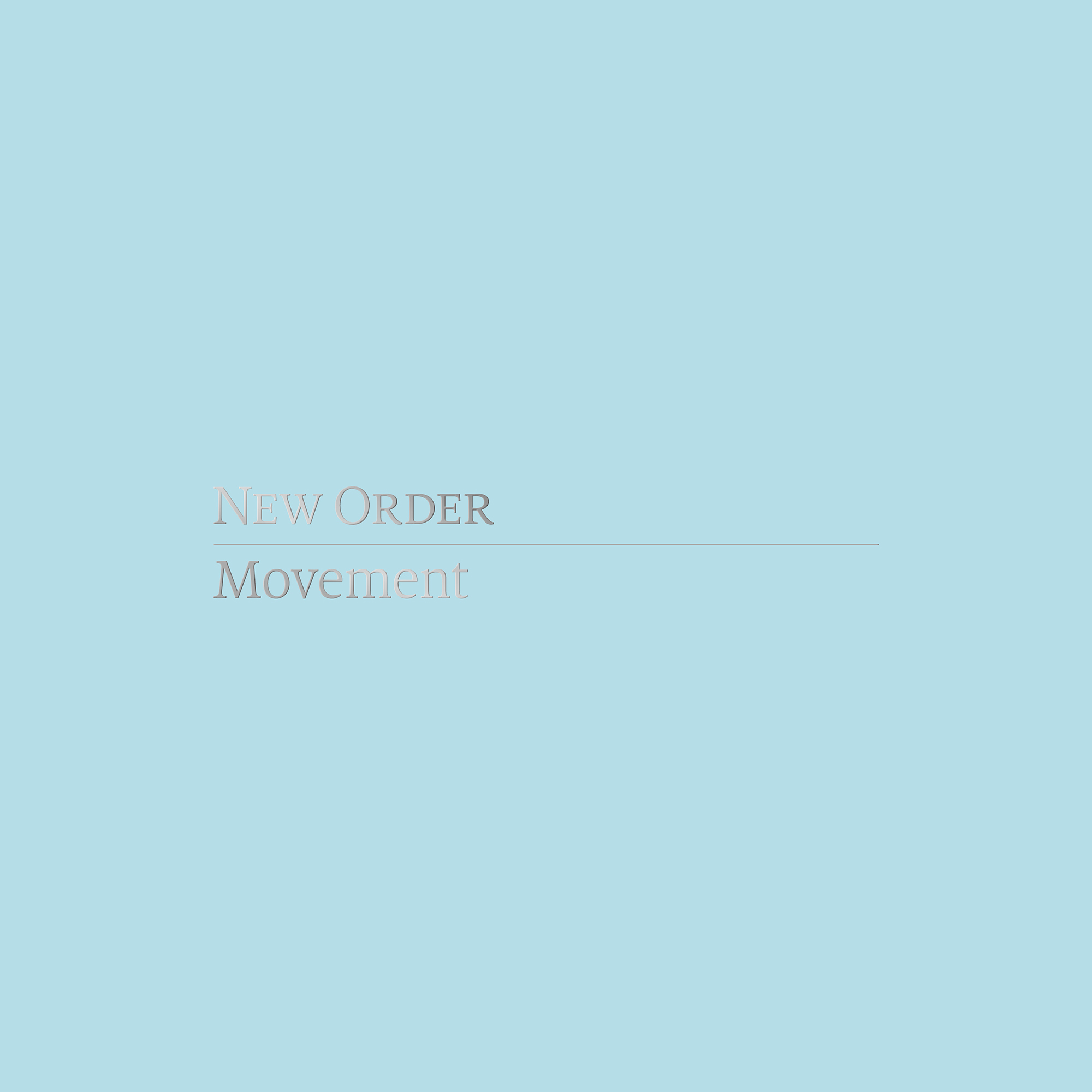 New Order「Movement」ジャケット