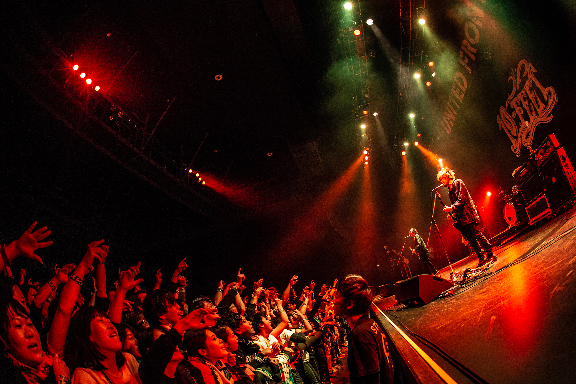 10-FEET@Dragon Ash LIVE TOUR 「UNITED FRONT」 photo by TAKAHIRO TAKINAMI