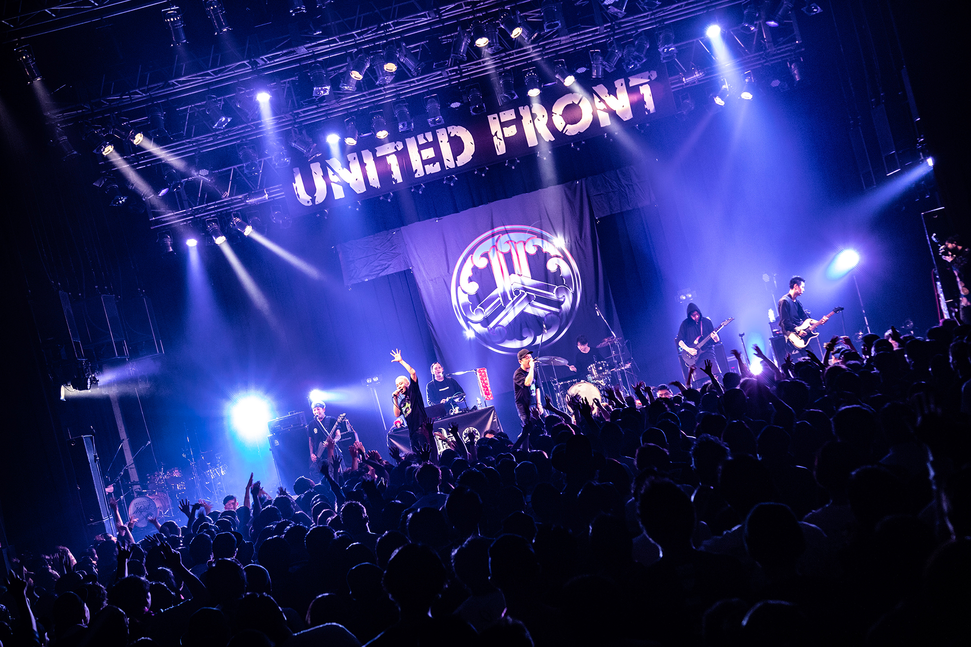 山嵐@Dragon Ash LIVE TOUR 「UNITED FRONT」 photo by TAKAHIRO TAKINAMI
