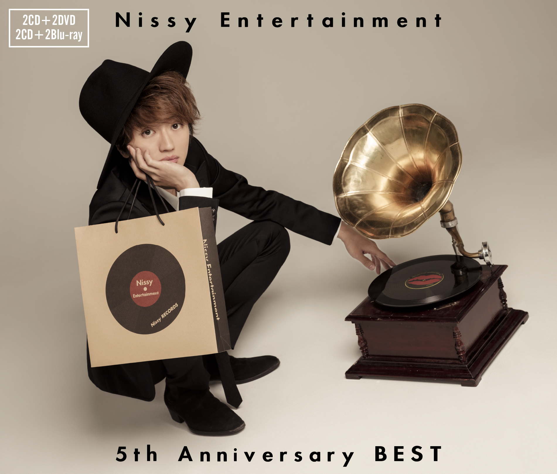 Nissy Entertainment 5th Anniversary BEST CD+DVD-Blu-ray