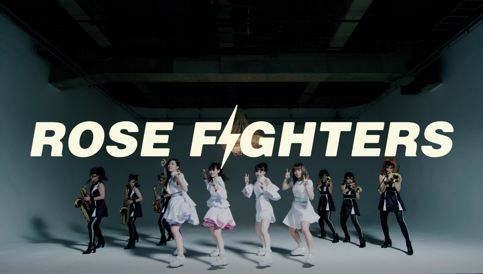 TEAM SHACHI 新曲「ROSE FIGHTERS」 MVキャプチャ