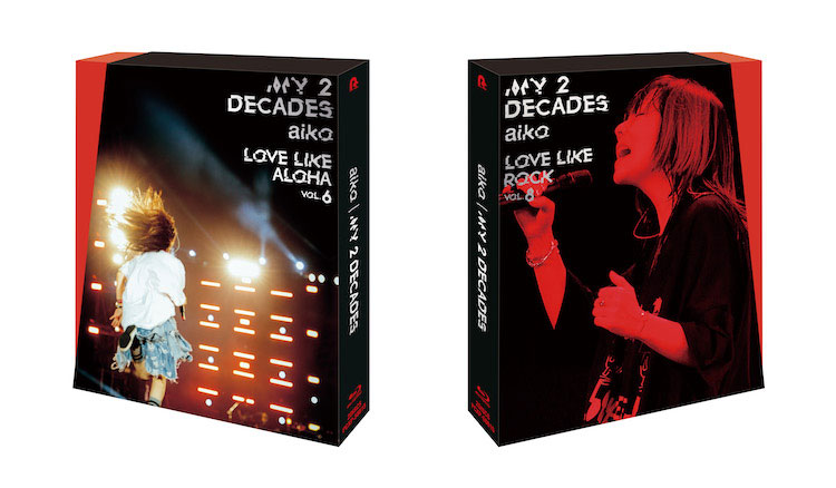 aiko/LIVE Blu-ray/DVD「My 2 Decades」Blu-ray