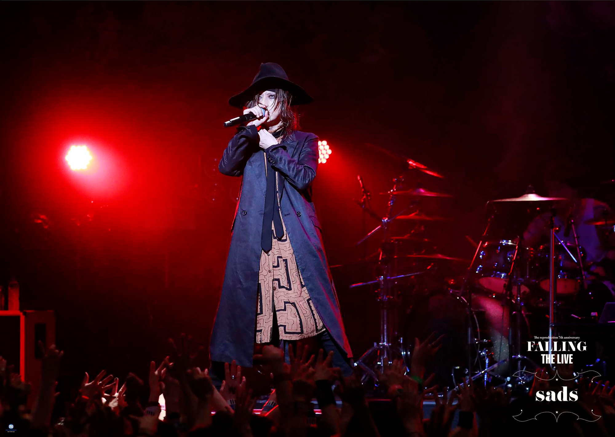 「The reproduction 7th anniversary『FALLING』THE LIVE」先着購入特典B2ポスター