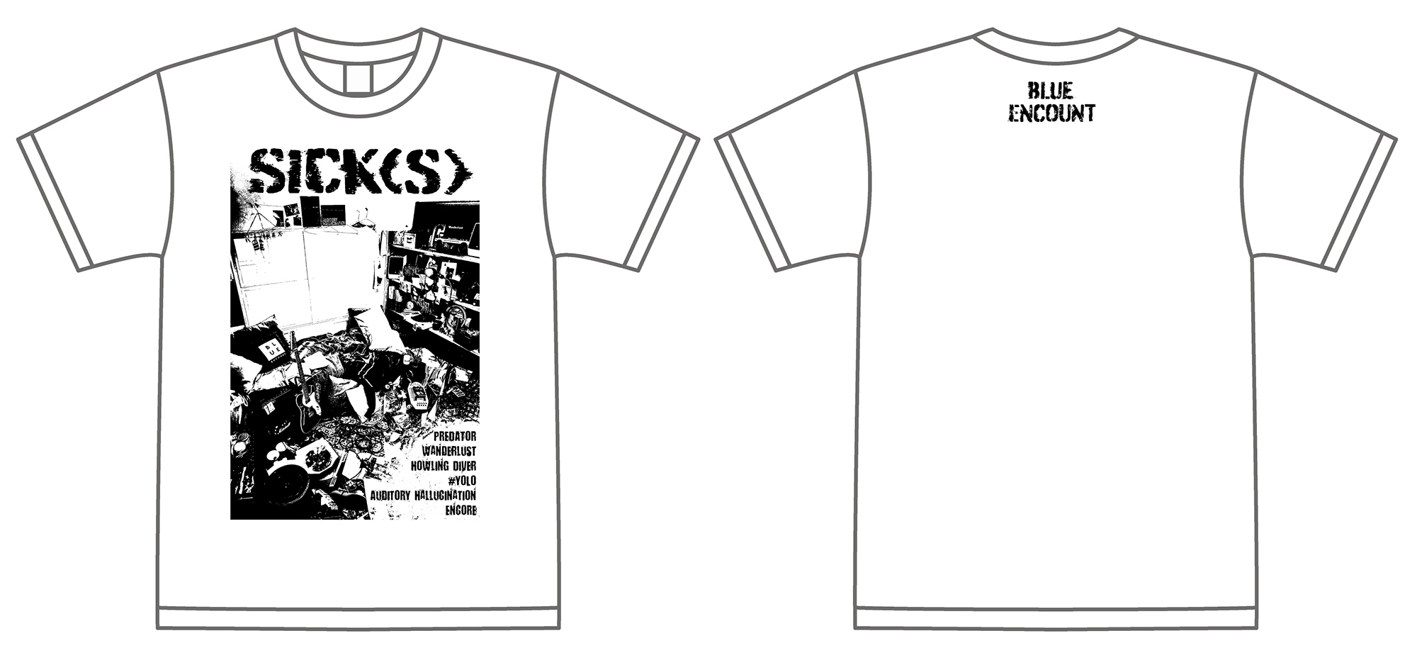 BLUE ENCOUNT「SICK(S)」<完全限定プレミアム「SICK(S)」Tシャツ>