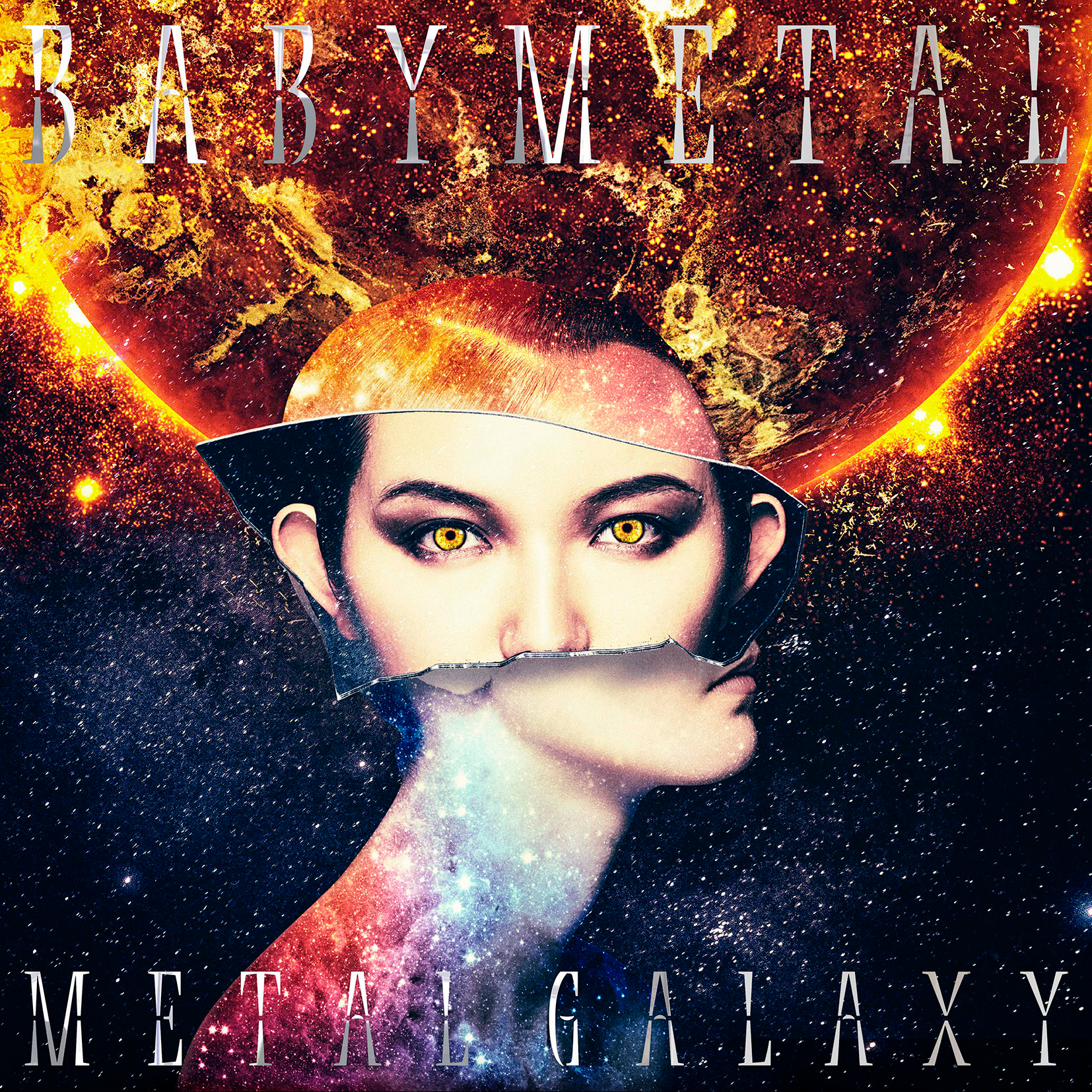 BABYMETAL 3rd Album「METAL GALAXY」初回生産限定 SUN 盤