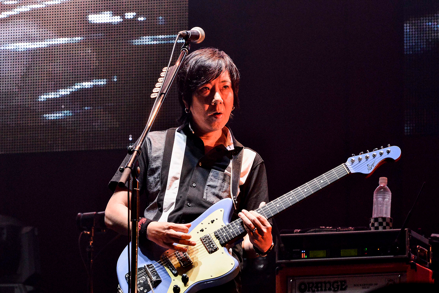 the pillows 横浜アリーナライブ写真 撮影:橋本塁(SOUND SHOOTER), 玉井 信吾