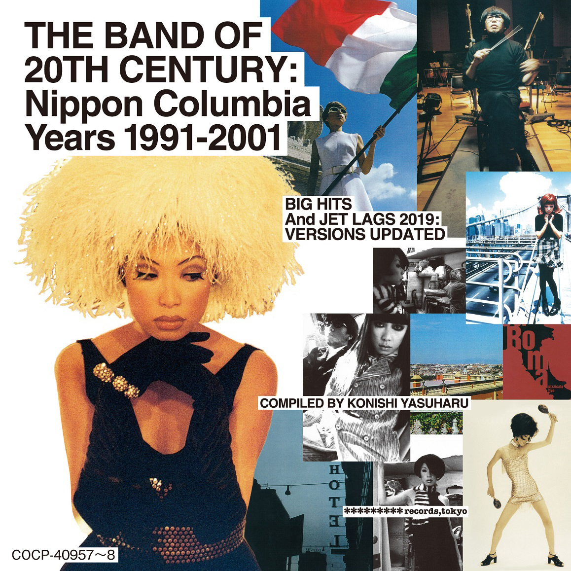 Art Director :信藤三雄 「THE BAND OF 20TH CENTURY:Nippon Columbia Years 1991-2001」