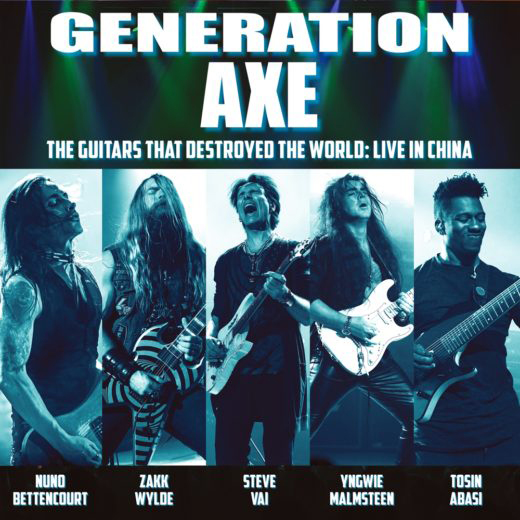 "GENERATION AXE『The Guitars That Destroyed The World- Live In China""』"