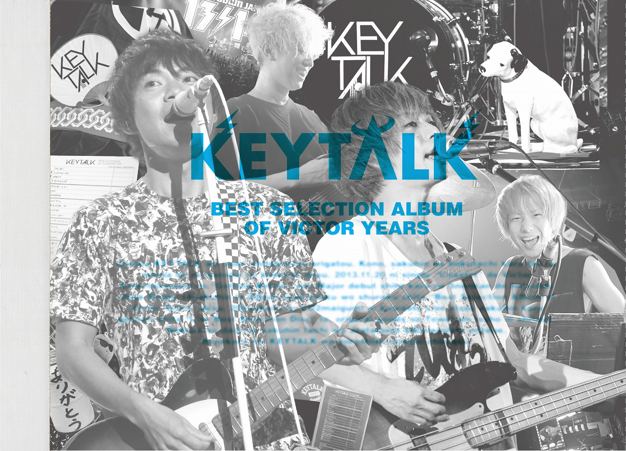 KEYTALK『Best Selection Album of Victor Years』