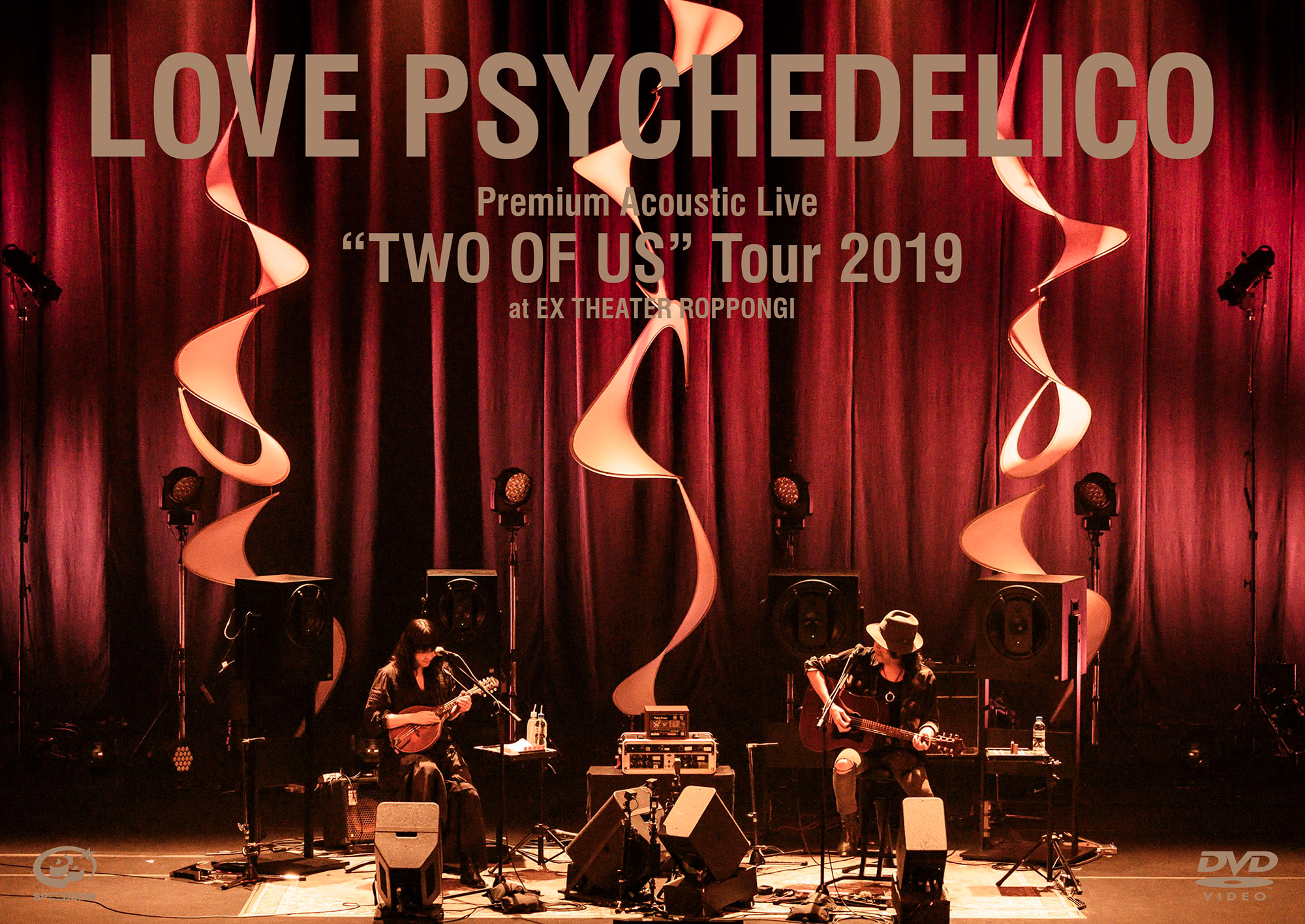 """Live Video(Blu-ray&DVD):Premium Acoustic Live """"TWO OF US"""" Tour 2019 at EX THEATER ROPPONNGI"""