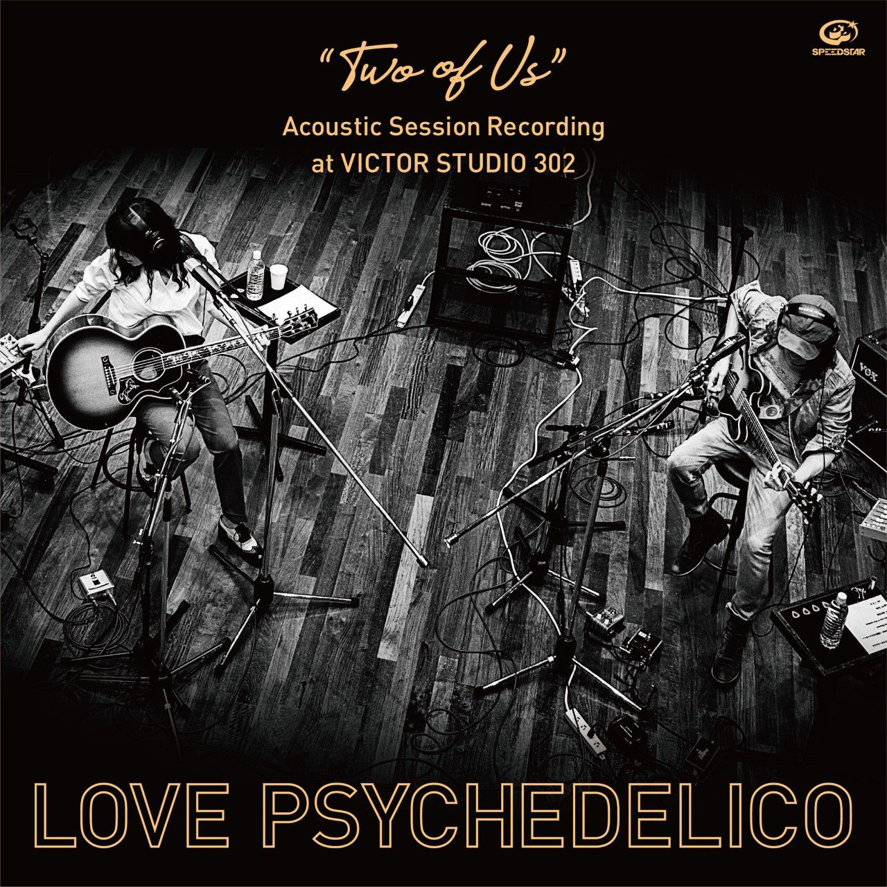 """Vinyl Record:""""TWO OF US"""" Acoustic Session Recording at VICTOR STUDIO 302"""