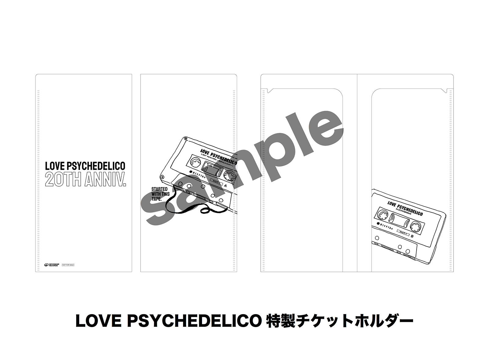 「LOVE PSYCHEDELICO特製チケットホルダー」