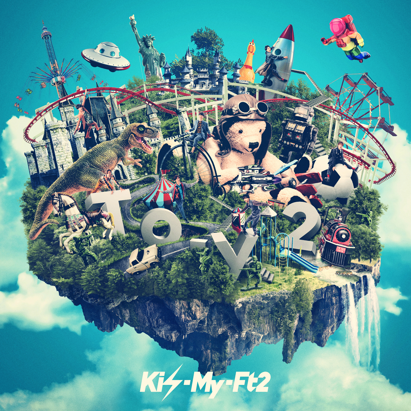 Kis-My-Ft2 アルバム『To-y2』 初回盤Aジャケット