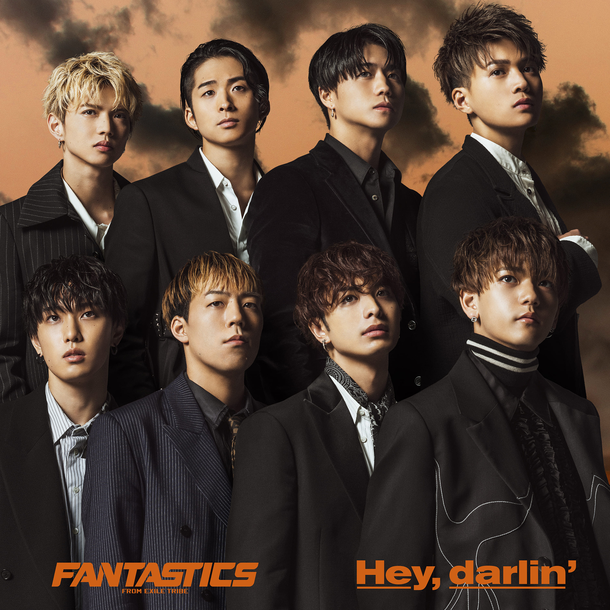 FANTASTICS from EXILE TRIBE Newシングル「Hey,darlin'」CD