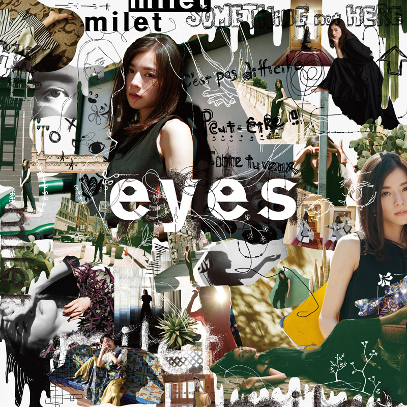 milet 1st full album 『 eyes 』 通常盤