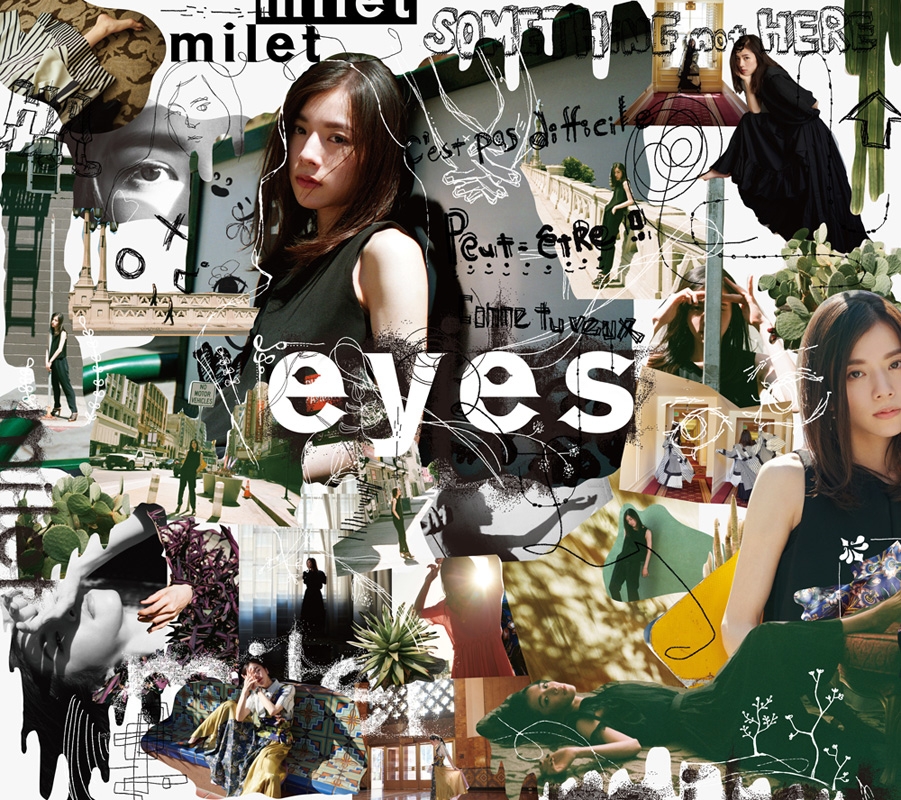 milet 1st full album 『 eyes 』 初回生産限定盤A