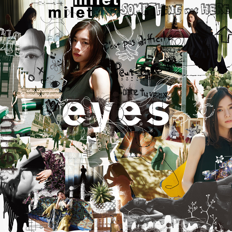 milet 1st full album 『 eyes 』 初回生産限定盤B