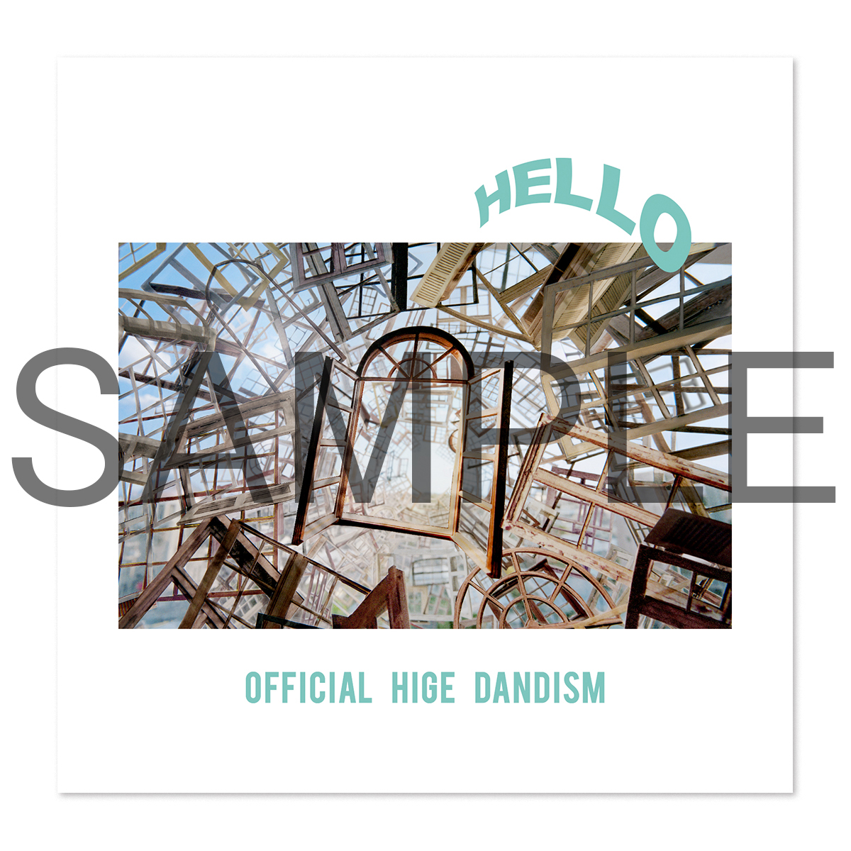 Official髭男dism New EP 「HELLO EP」Amazon 予約購入 先着特典