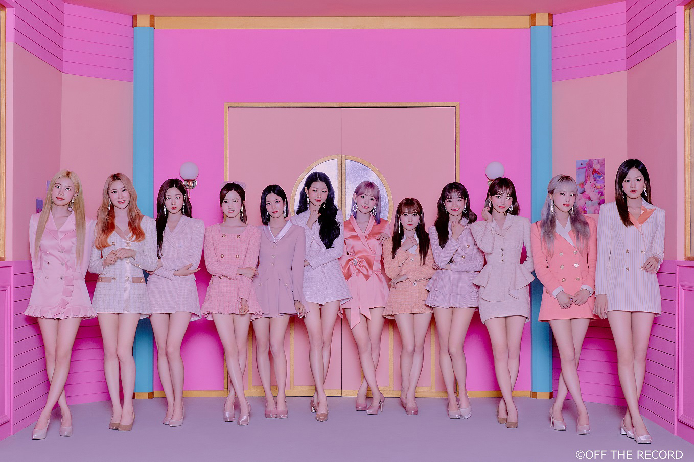 IZ*ONE  ©OFF THE RECORD